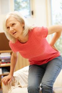 Rugpijn gepaard met osteoporose